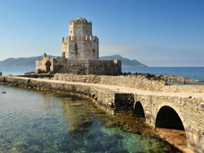 Finikounda Villas Methoni Castle