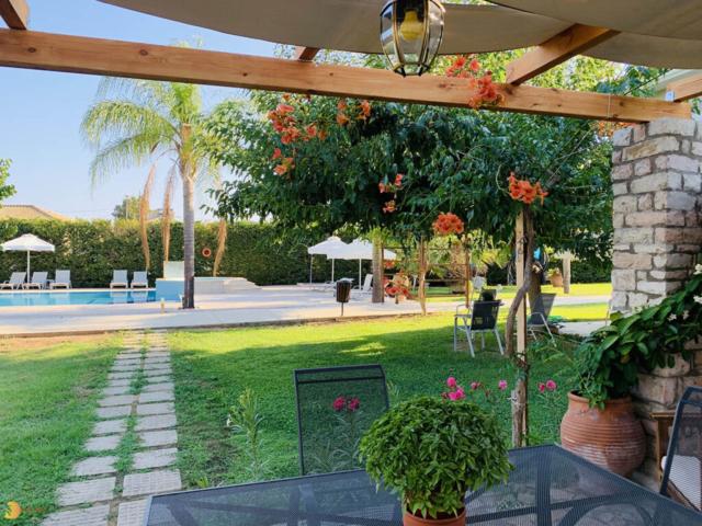 Finikounda messinia apartments vacation pool garden
